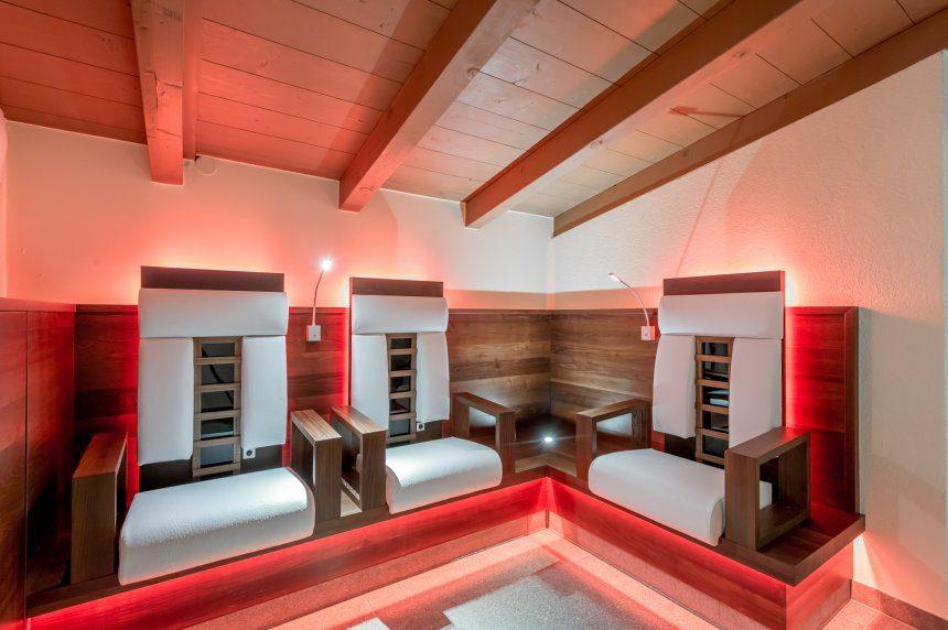 sauna grauer bär